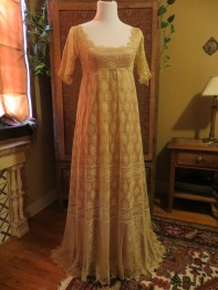 gown dummy front